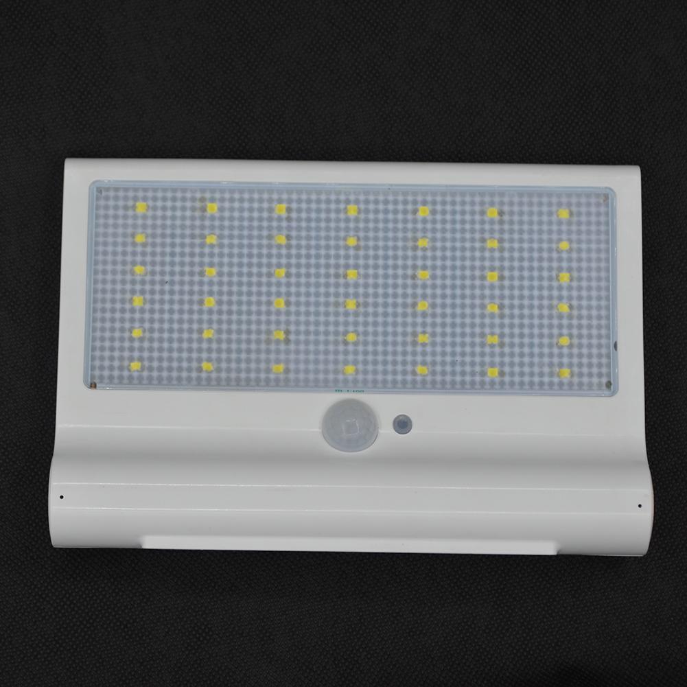 1X 42 LED Solarleuchte mit Bewegungsmelder Wasserdicht Außenleuchten Außenlampe