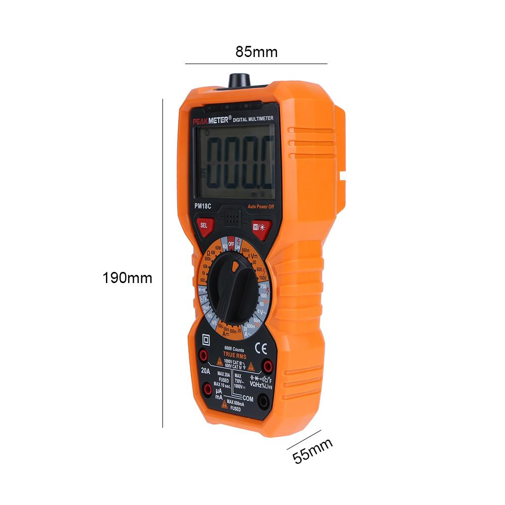 digital multimeter how to use testing voltage