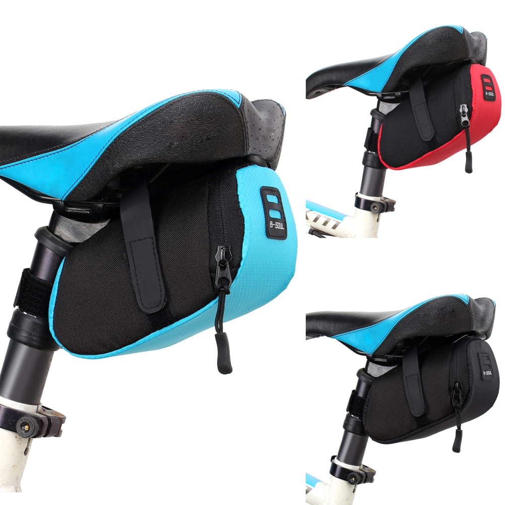 Tools Outdoor Under Seat Storage Bike Saddle Bag Cycling Bags Rear Tail Pouch