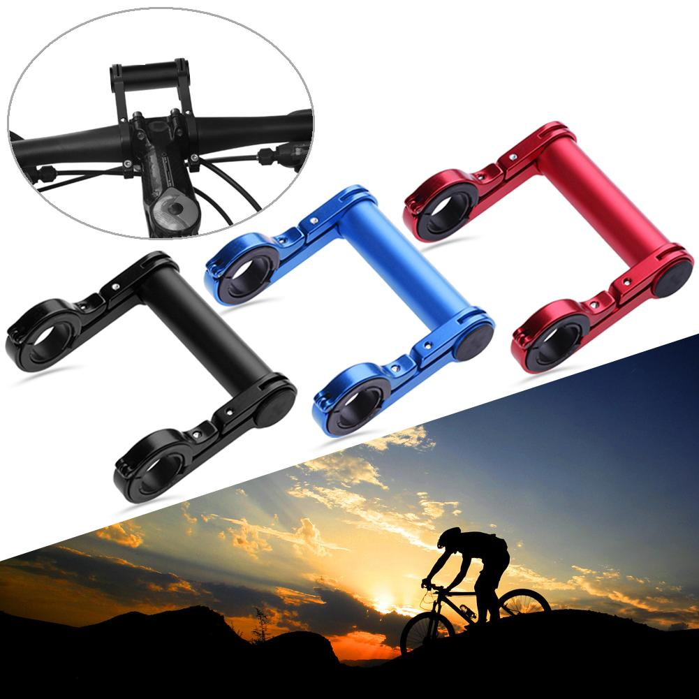 Mountain Bicycle Handlebar Extender Bracket Light Holder Phone Mount Lamp Mount