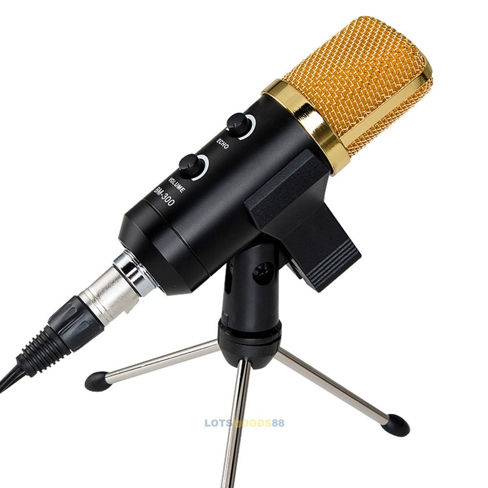 usb studio condenser vocal microphone reverb pc recording mic stand shock mount ebay. Black Bedroom Furniture Sets. Home Design Ideas