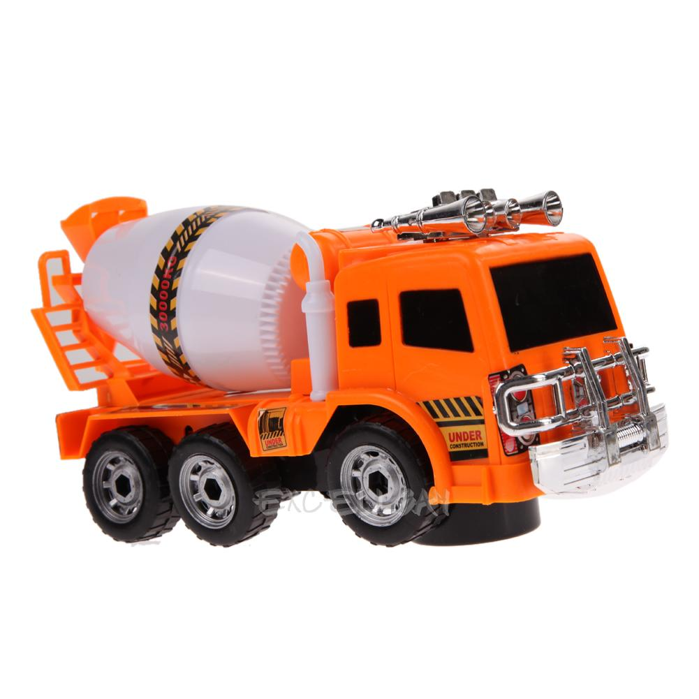 Large Toy Trucks For Boys : Scale large cement mixer truck music flash vehicle