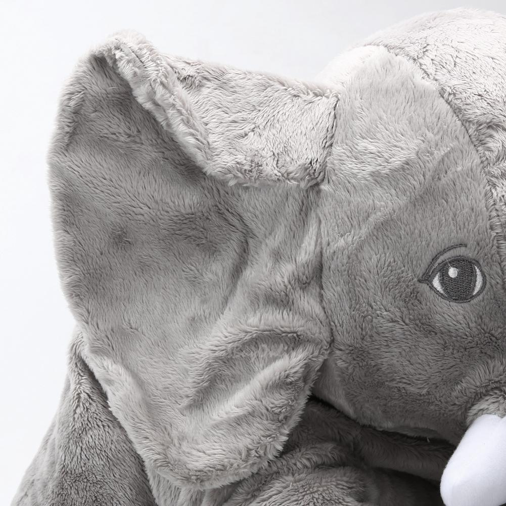 Long Nose Elephant Doll Pillow Soft Plush Stuff Toys