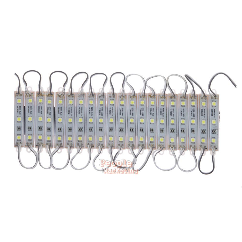 20PCS 3LED Module 5050 SMD Waterproof Lamp LED Strip String Light Letter DIY #P eBay
