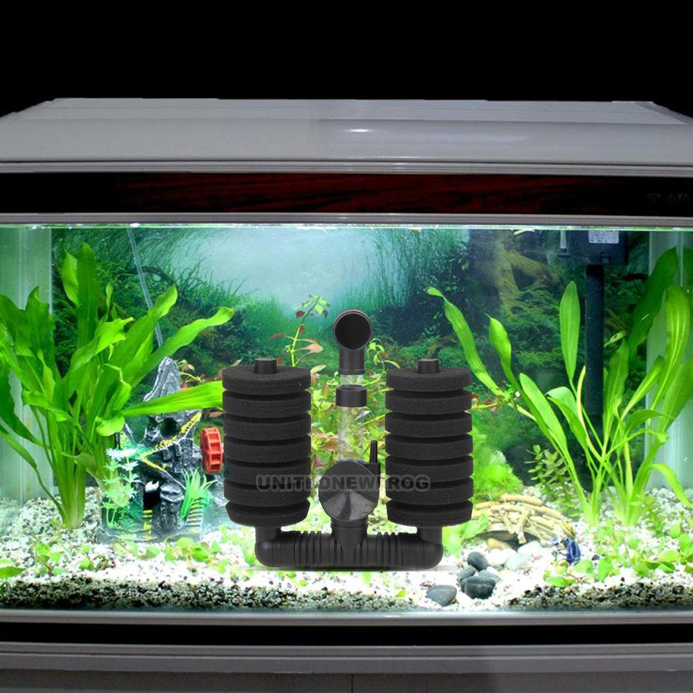 Biochemical sponge filter betta fry aquarium fish tank for Betta fish tank with filter