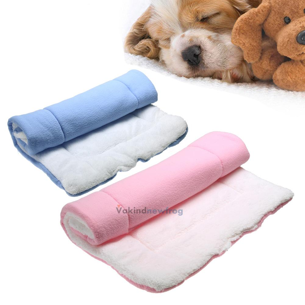 Cotton Pet Bed Cushion Mat Pad Dog Cat Cage Kennel Crate