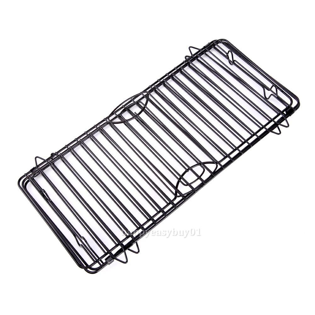cake biscuit baking rack stackable cooling wire tray space