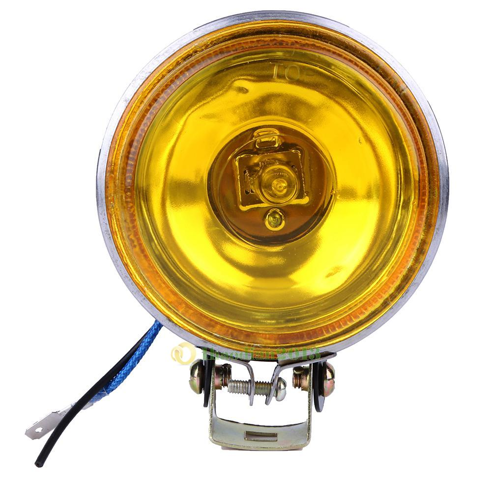 12V 55W Round Car Fog Reverse Light Bulb Daytime Driving Running DRL Round Lamp