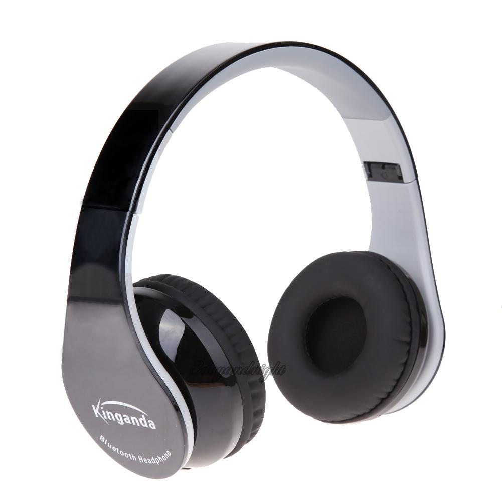 bluetooth wireless stereo headset headphone with receiver. Black Bedroom Furniture Sets. Home Design Ideas