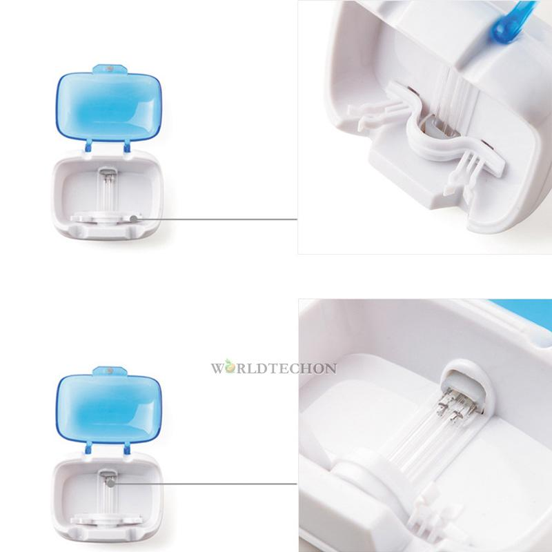 Double Uv Dental Care Family Toothbrush Sterilizer