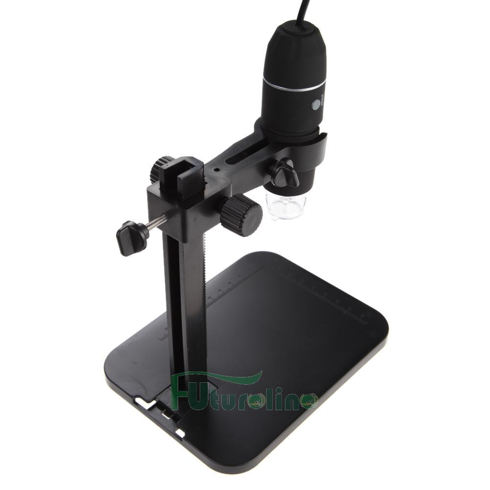 101921-3 USB Digital Microscopio Endoscopio 1000X 8 LED Lupa Cámara + Soporte Levante ES