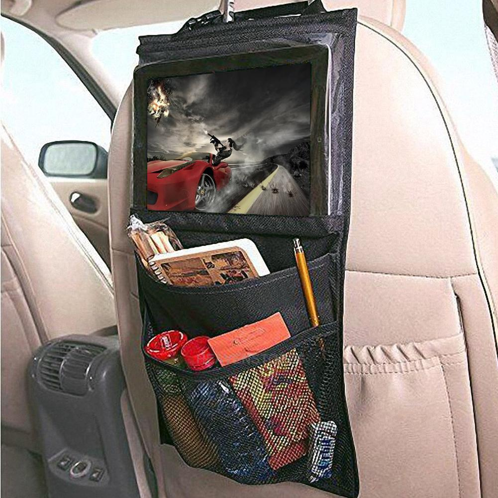 Car Seat Toy Holder : Baby kids car seat back hanging organizer storage toy