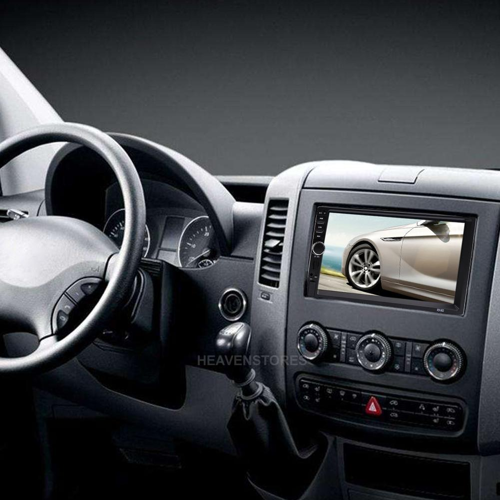 gps hd 7 2 din voiture lecteur mp3 radio cran tactile. Black Bedroom Furniture Sets. Home Design Ideas