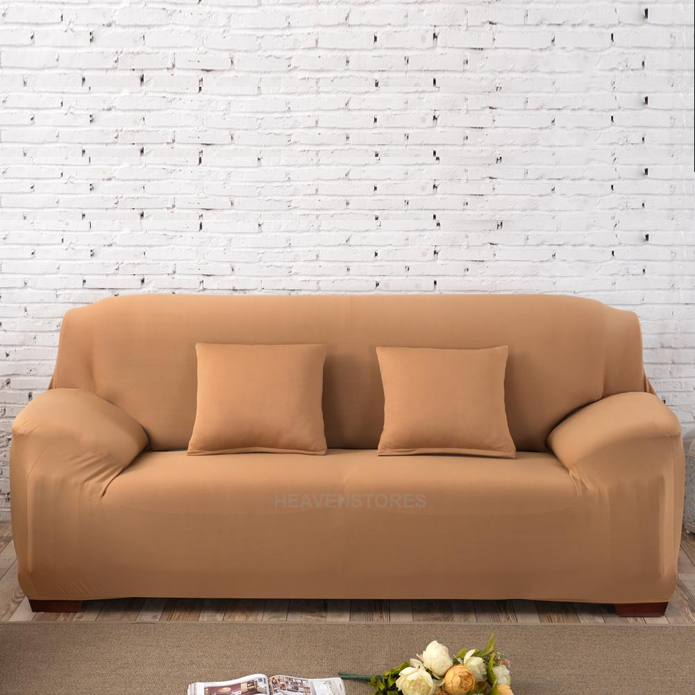 Stretch Slipcover Chair Love Seat Sofa Futon Recliner Pillow Cover Case Ebay