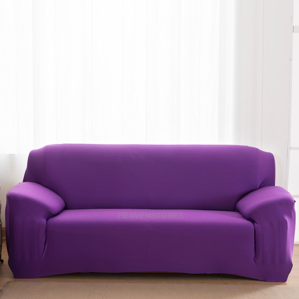 Stretch Slipcover Chair Love Seat Sofa Futon Recliner Pillow Cover Hv2n Ebay